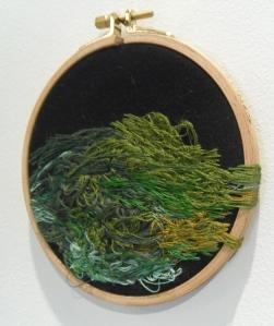 Mari Oikarinen: Evergreen (yksityiskohta).