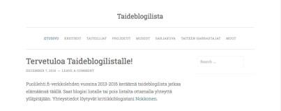 taideblogil